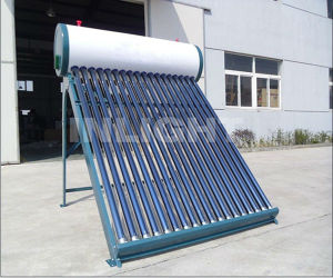 Color Steel Compact Evacuated Tube Solar Water Heater (INL-V23) pictures & photos