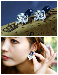 Fashion Crystal Classic Earring Jewelry (ED0801)