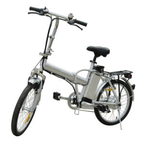 Folding Electric Bike with Headset and LED Headlight (TDN-004) pictures & photos