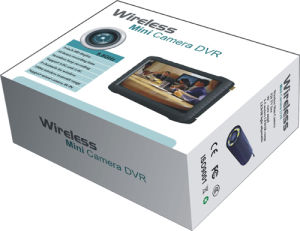 Latest 5-Inch HD Portable Wireless Mini DVR Receiver, Wireless Receiver pictures & photos