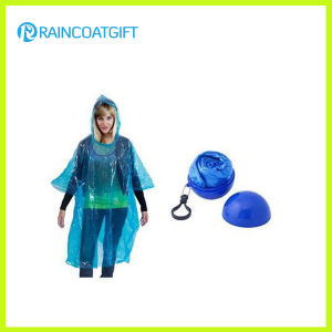 Diaposable PE Raincoat Ball for Promotion Rpe-037 pictures & photos