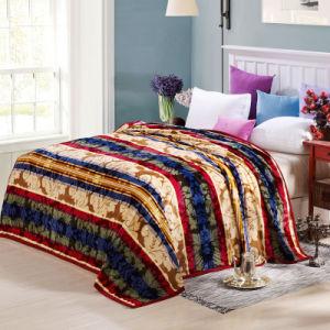 Hot Sale Super Soft Printed Flannel Blanket Coral Fleece Blanket (SR-B170318-1) pictures & photos