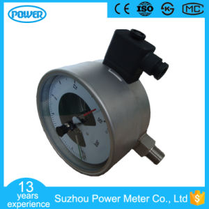 6′′ 150mm All Stainless Steel Electric Contact Pressure Gauge pictures & photos