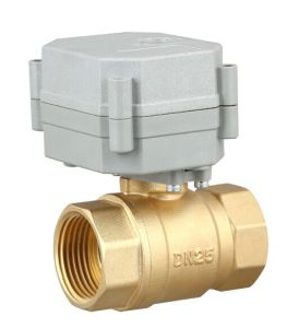 1′′ Motorized Control Ball Valve for HAVC (T25-B2-C) pictures & photos