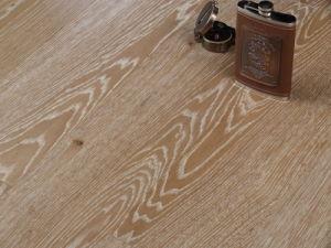 Oak Brushed UV Lacquer UV Oil Engineered Flooring (F-SJ10201)