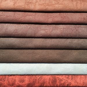 100%Polyester Knitting Velvet with Leather Looking and Easy to Clean (JL001) pictures & photos