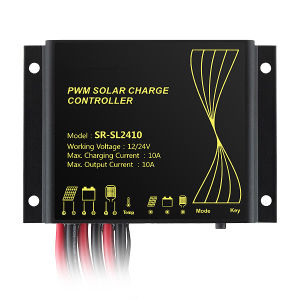 12/24V Waterproof Auto 10A PWM Solar Charge Controller (QW-SR-SL2410) pictures & photos
