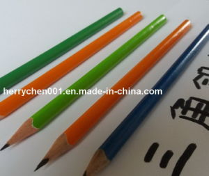 "7"" Triangle Shape Hb Pencil, Sky-042 pictures & photos"