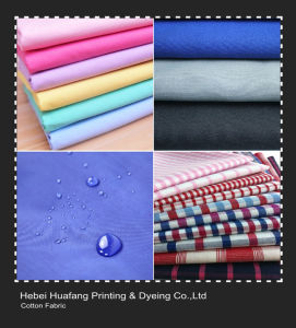 Cotton Fabric for Pocketing, Lining, Shirting pictures & photos