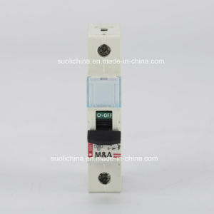 Leg Miniature Circuit Breaker MCB with CB TUV Ce Certificate pictures & photos