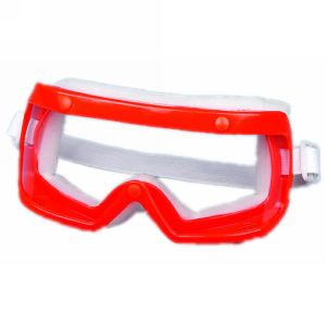 Red Safety Working Goggles with Sealing Sponge (JMC-400D) pictures & photos