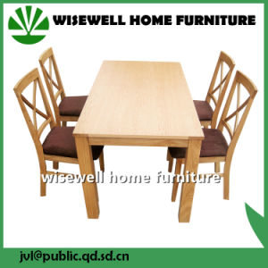 Pine Wood Cross Back Dining Chair (W-C-1723) pictures & photos