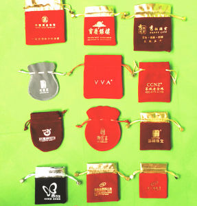 Customized Jewelry Packaging Pouches pictures & photos