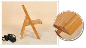 Bamboo Wood Folding Chairs Modern Dining Chairs Computer Chairs (M-X2026) pictures & photos