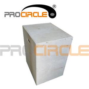 Crossfit Plyometric Agility Training Wood Puzzle Plyo Box (PC-PB1005) pictures & photos