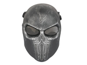 """TPU """"Punisher"""" Tactical War Game Full Face Airsoft Mask"""