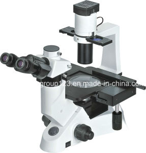 Inverted Trinocular Laboratory Biological Microscope pictures & photos