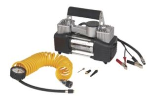 DC 12V Double Cylinders Car Tyre Pump (WIN-733) pictures & photos