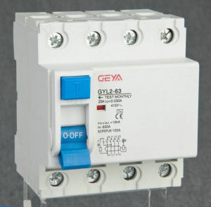 GYL2-63 Residual Current Circuit Breaker ID RCCB