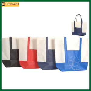 Non Woven Polypropylene Grocery Shopping Tote Bag (TP-TB109) pictures & photos