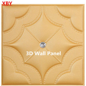 3D Acoustic Wall Panel PU Leather pictures & photos