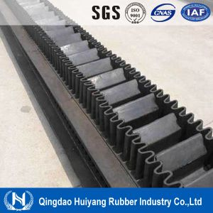 Large Angle Rubber Cleated Sidewall Conveyor Belt pictures & photos