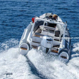 Liya 19ft Inflatable Rescue Boat Hypalon Rib Boat Sport Motor Boat for Sale pictures & photos
