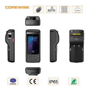 Handheld Terminal 4G WiFi Thermal Printer/RFID Reader/Fingerprint Sensor/Android POS Device pictures & photos