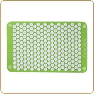 Aku Acupressure Mat - Green Colors