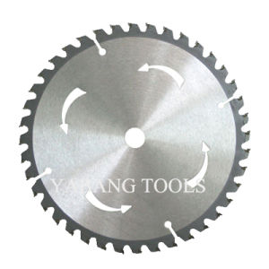 Tct Circular Saw Blade for Cutting Wood, Aluminum, Metal pictures & photos