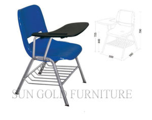 Student Combo Chair with Arm and Bookrack (SZ-SF08) pictures & photos