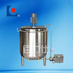 Stainless Steel Emulsification Tank with Circulating Pump pictures & photos