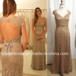 Full Sequins Lace Evening Gown Mermaid Prom Dress Es05 pictures & photos