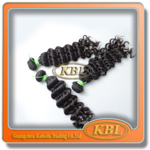 Full Cuticle Hair Extension Remy 4A Brazilian Human Hair pictures & photos