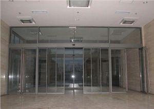Automatic Glass Door Outside Aluminium Sliding Door pictures & photos
