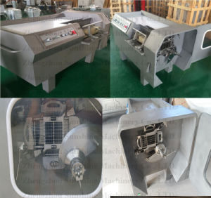 Automatic Frozen Beef Chicken Meat Dicing Cube Cutting Cutter Machine pictures & photos