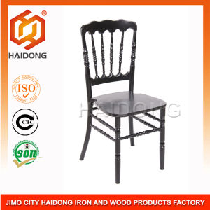 High Quality of Black Wood Napoleon Chair pictures & photos