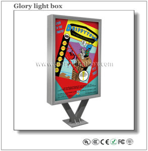2015 Hot Sales Double Face Advertising Scrolling Light Box pictures & photos