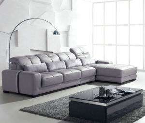 Modern Home Furniture Leather Sofas (B. 901) pictures & photos