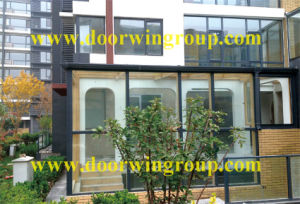 Aluminum Window with Solid Wood Cladding pictures & photos