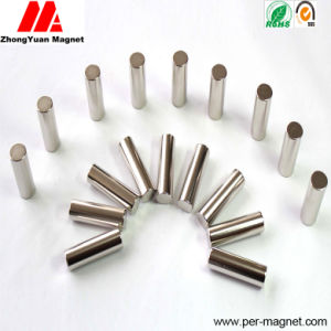 40h 42h 45h 48h Permanent Cylinder NdFeB Neodymium Magnet pictures & photos
