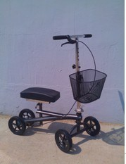Aluminum Knee Walker Hz-K001 pictures & photos