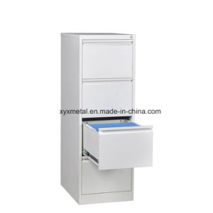 Office Metal Vertical Filing Cabinet Drawer 4 Drawer Filing Cabinet pictures & photos