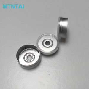 20mm Flip off Caps in Transparent Color pictures & photos