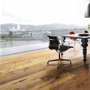 3 Layers All Oak Antique Wood Flooring/Engineered Oak Floors (Parquet Flooring) (08)