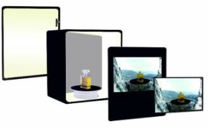 32inch Surface Type Touch Transparent Display Case pictures & photos