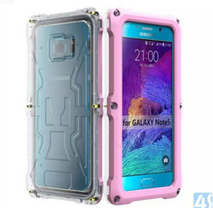 Heavy Duty Waterproof Mobile/Cell Phone Cover/Case for Samsung Galaxy Note5 pictures & photos
