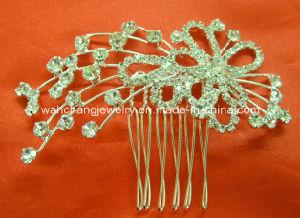 Wedding Tiara, Rhinestone Bridal Tiara Hair Comb H-34094, Fashion Accessories