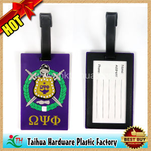 PVC Silicone Luggage Tag with SGS Certification (TH-xlp012) pictures & photos