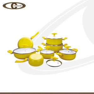 Hot Sell with High Quality Aluminium Cookware Set /Cooking Pot /Fry Pan with Non Stick